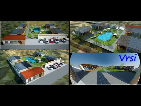 Vrsi,Croatia...4 mobile homes