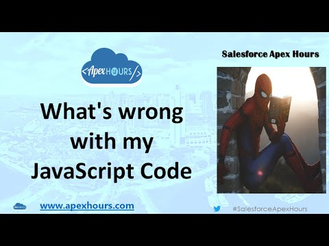 What's Wrong With My JavaScript Code