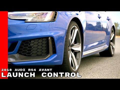 2018 Audi RS4 Avant Launch Control