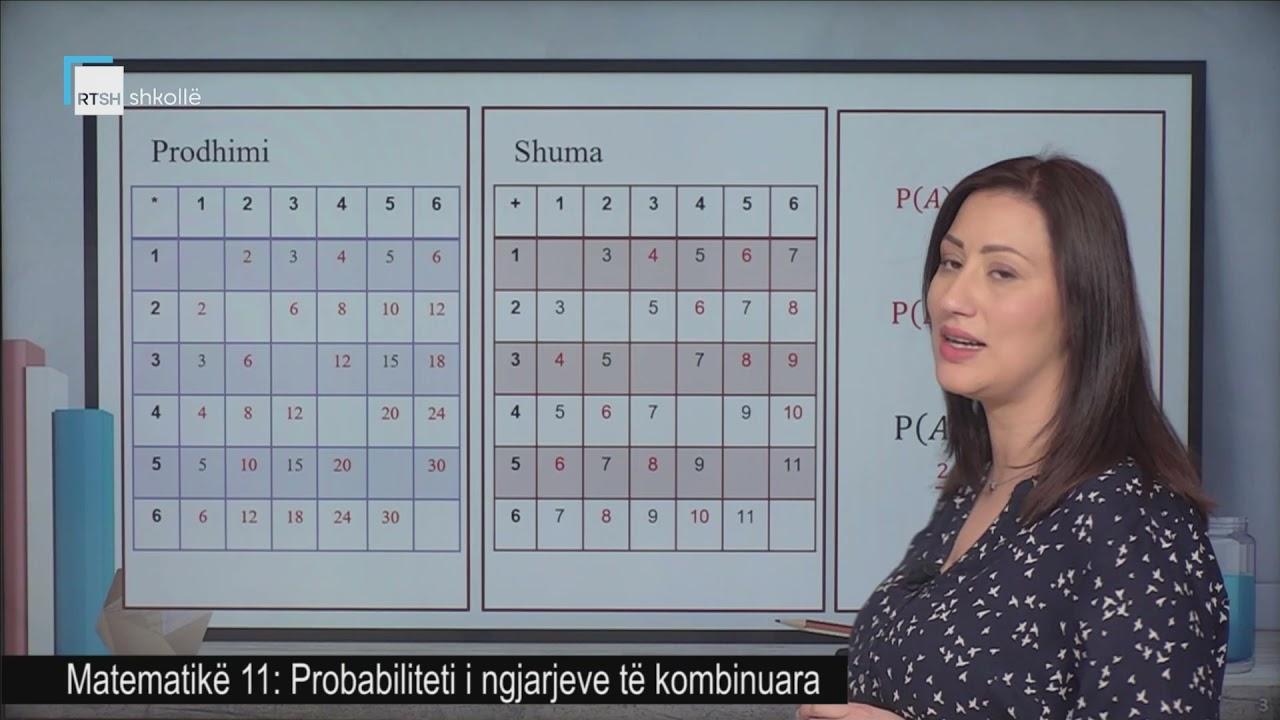 Download Matematikë 11 - Probabiliteti i ngjarjeve të kombinuara