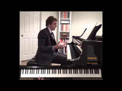 Schubert Impromptu In E-flat Major, Op.90 No.2 Tutorial - ProPractice By Josh Wright