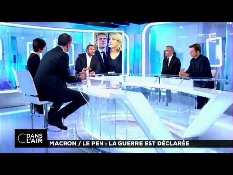 Macron / Le pen : la guerre est déclarée #cdanslair 17-03-2017