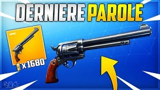Fortnite: The New Revolver on Fortnite Save the World!! - ( Last Word)