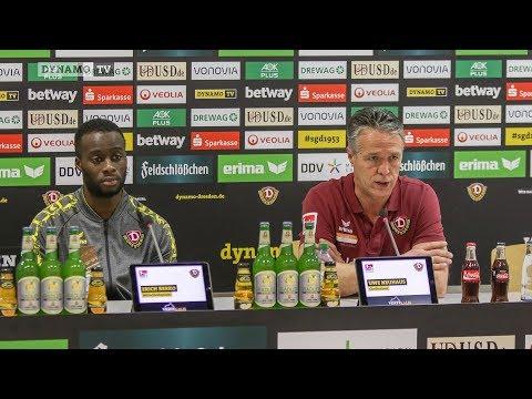 18. Spieltag | MSV - SGD | Pressekonferenz vor dem Spiel