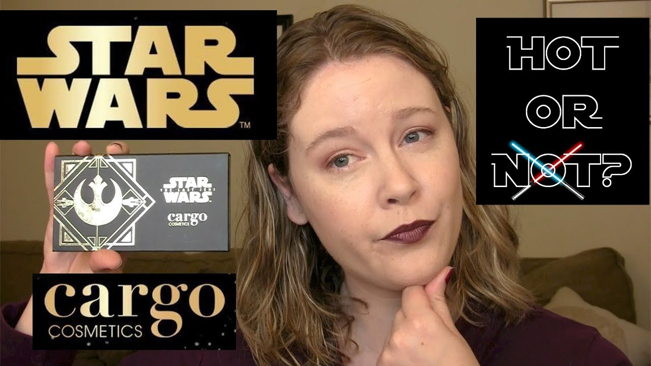 Cargo Star Wars The Light Side Eyeshadow Palette Review Youtube