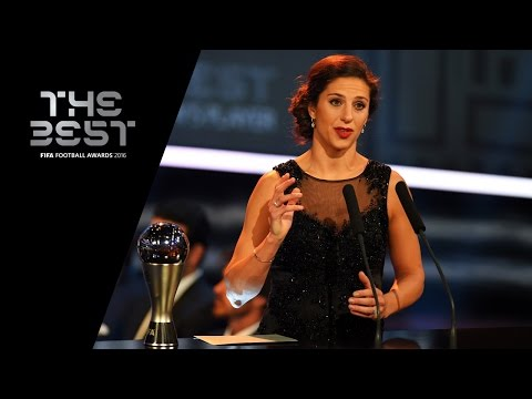 THE BEST FIFA WOMEN'S PLAYER 2016 - Carli Lloyd - Award Presentation