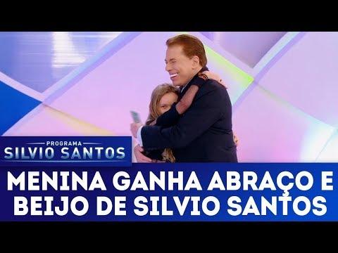 Garota conquista Silvio Santos e ganha abraço - Completo | Programa Silvio Santos (04/02/18)