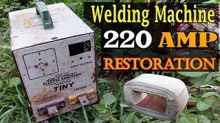 220 amp welding machine restoration