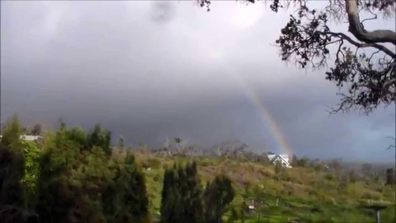 Rainbow Greetings In Hawaii