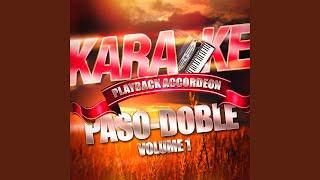 El Carillo (Paso-Doble) (Karaoké playback complet avec accordéon)
