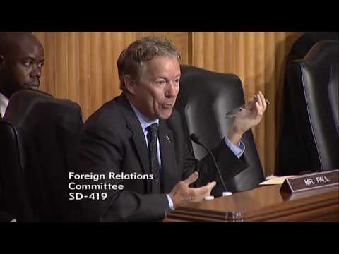 Stop Sending Foreign Aid To Palestine | Rand Paul
