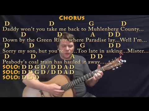 Paradise (John Prine) Guitar Cover Lesson With Chords/Lyrics