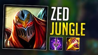 TEK YEDİ HACK DEDİ! ZED JUNGLE!