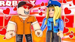 ROBLOX WIĘZIENIE - ZAKOCHAŁEM SIĘ W PIĘKNEJ POLICJANTCE! (Roblox Roleplay Jailbreak) - Vito i Bella