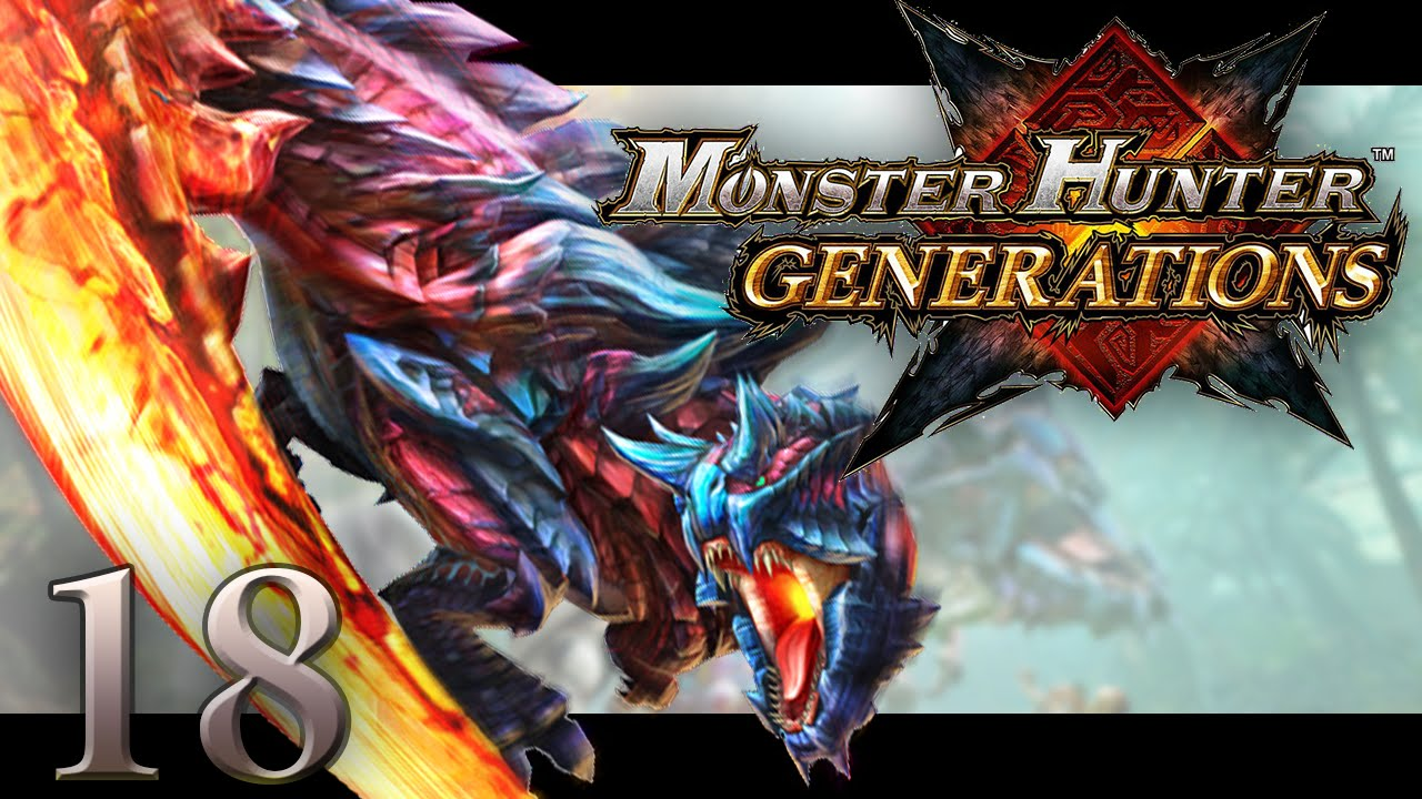 Lets Play Monster Hunter Generations 18 Glavenus 5 Star Urgent
