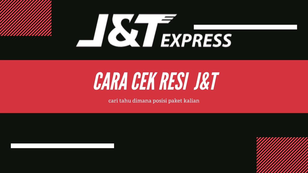 Cara mudah cek no RESI J&T atau paket kiriman JNT - YouTube