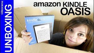 Amazon Oasis unboxing  preview -el eBook SUMERGIBLE a prueba-