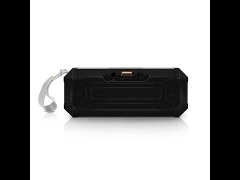 Review Aduro Amplify Sound Glow Wireless Portable Speaker