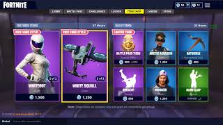 *NEW* Fortnite Item Shop Update August 16th-17th *NEW OVERTAKER/WHITEOUT SKINS*