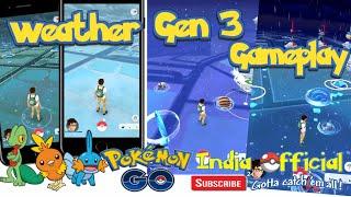 Pokémon Go-Gen 3 Gameplay|New update|