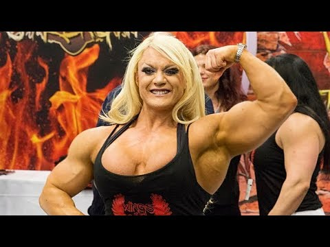 Ripped muscle girl fbb workout lisa cross bodybuilding - Lisa cross fbb ...