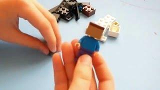 Собираем из Лего персонажей майнкрафта