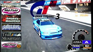Gran Turismo 3: A-Spec - Single Race: Arcade Mode (Area A / Hard)