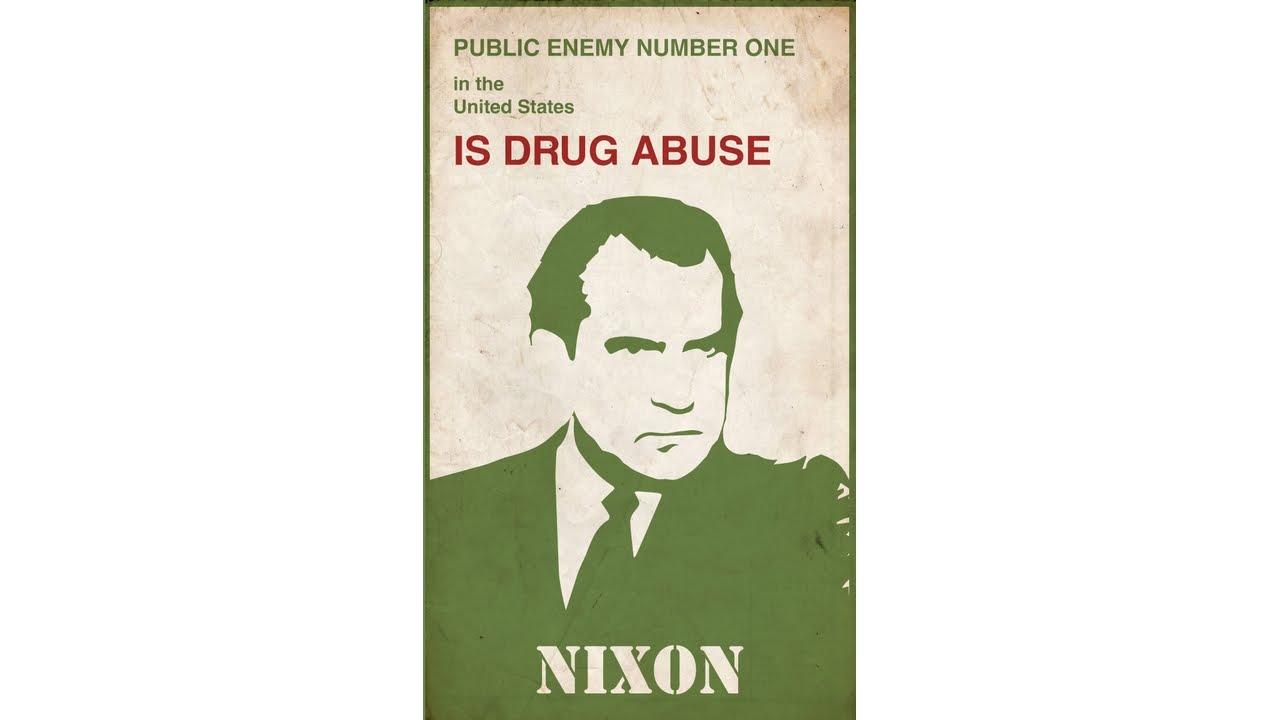 Image result for nixon declares war on drugs images