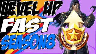 Fortnite How to LEVEL UP FAST SEASON 8, UNLOCK BLACKHEART and HYBRID Full ARMOR SET and RANK UP FAST