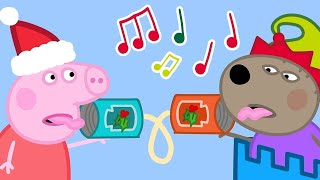 Cover images Peppa Pig Official Channel   Sharing is Caring 🎄Peppa Pig Christmas
