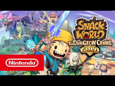 SNACK WORLD: THE DUNGEON CRAWL – GOLD Announcement trailer (Nintendo Switch)