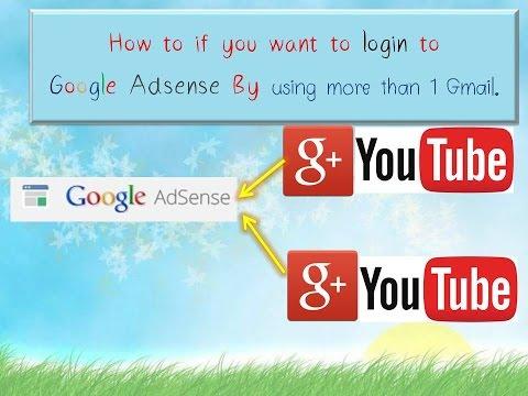 วิธีทำให้ Gmail หลายบัญชี login เข้าสู้ Google adsense ได้