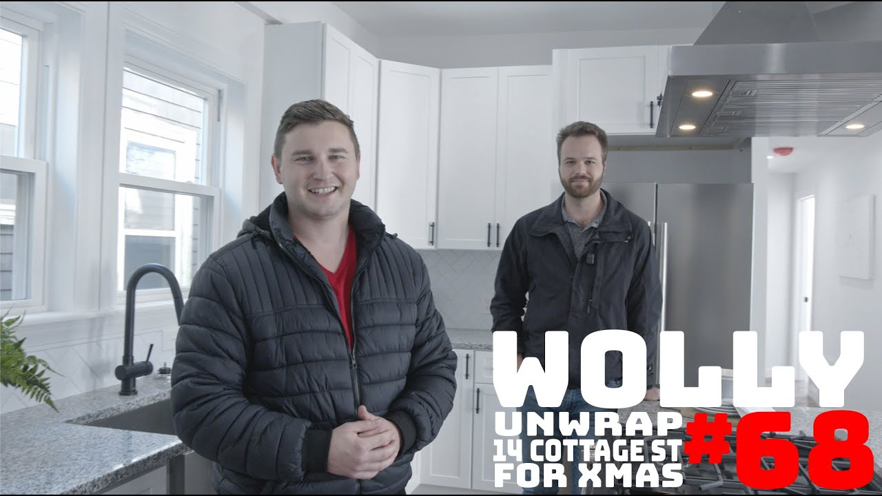 WOLLASTON WEDNESDAY #68: Unwrap 14 Cottage St for Xmas