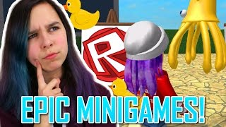 ROBLOX LET'S PLAY EPIC MINIGAMES | LEVEL UP? | RADIOJH GAMES