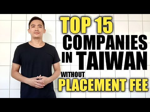 TOP COMPANIES IN TAIWAN WITHOUT PLACEMENT FEE  |  Direct Hiring  | Agencies For Taiwan
