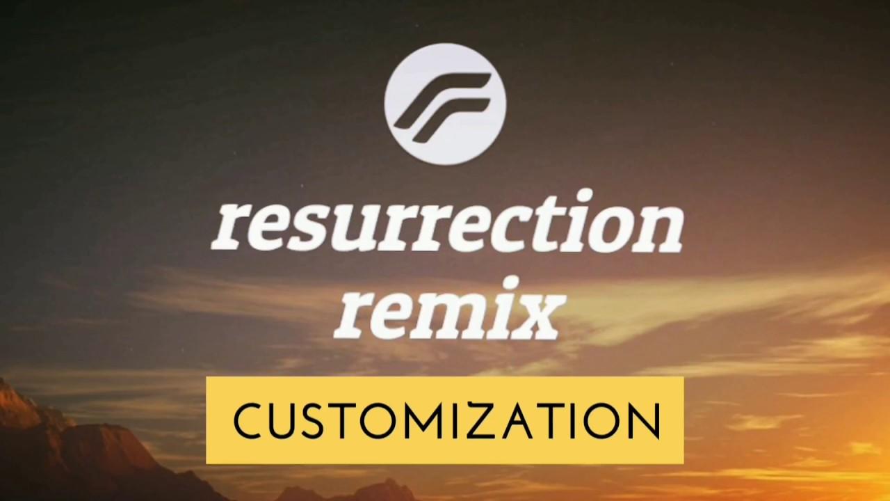 RESURRECTION REMIX custom ROM V5 8 5 final customization features review on  Lenovo P2