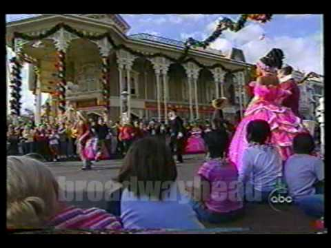Jump5 in Walt Disney Christmas Parade '02