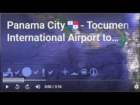 Panama City - Tocumen Airport to Cinta Costera