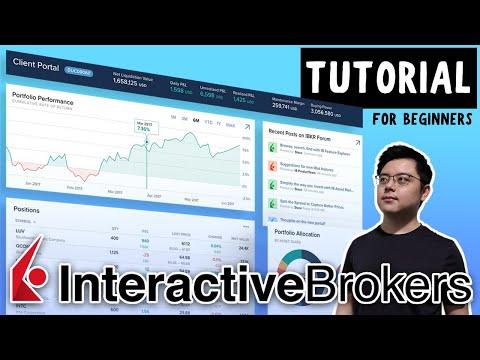 Interactive Brokers (Web Portal) Tutorial | Beginner's Guide