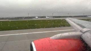 "Take off airport from Moscow ""Domodedovo"" - Boeing 757-200 RA-73010 VIM Airlines"