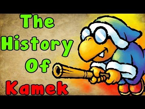 The History Of Kamek (Super Mario Series)