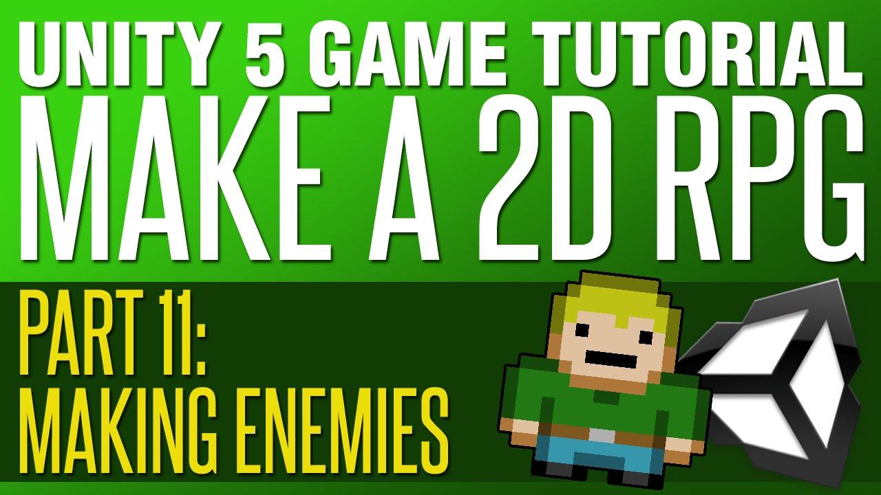 2d rpg tutorial unity
