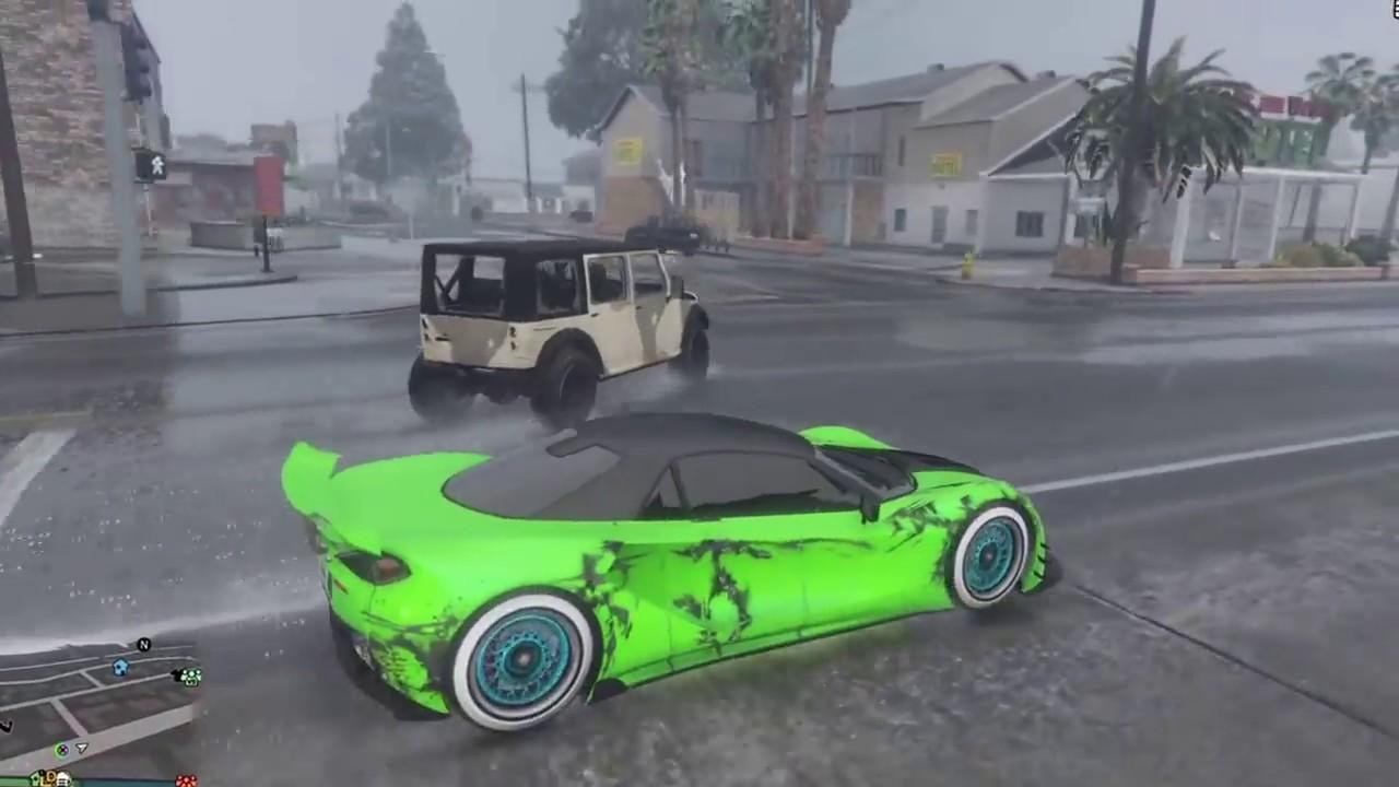 voiture qui roule toute seule gta 5 youtube