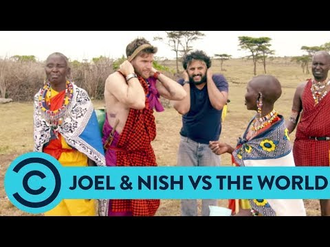 Daily Chores With The Masai - Joel & Nish Vs The World | Comedy Central