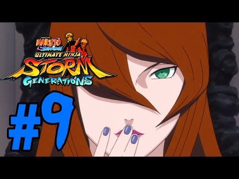 Naruto Ultimate Ninja Storm Generation Gameplay Walkthrough - Episode 9 (Sasuke Vs. Danzo)