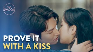 Lee Min-ho persuades Kim Go-eun with a kiss  The King Eternal Monarch Ep 5 ENG SUB