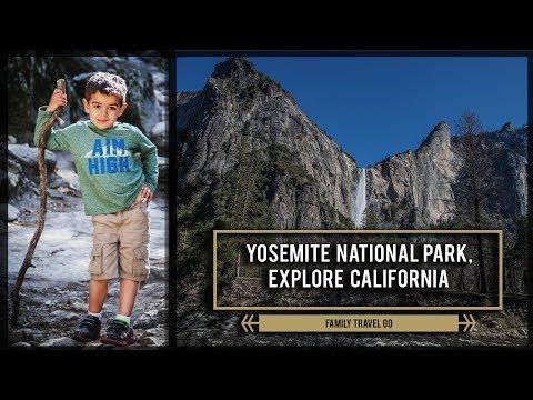 Yosemite National Park - Explore California - 4K Travel Vlog