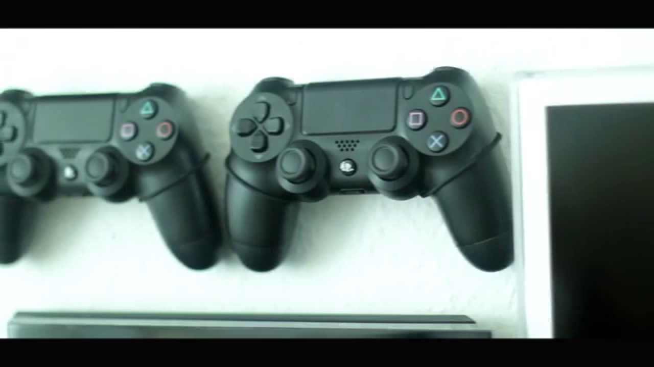 Wall mount bracket for gaming consoles and controllers - YouTube