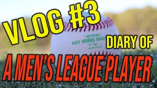 VLOG #3....Diary of a Men's League Player Vol. 1!
