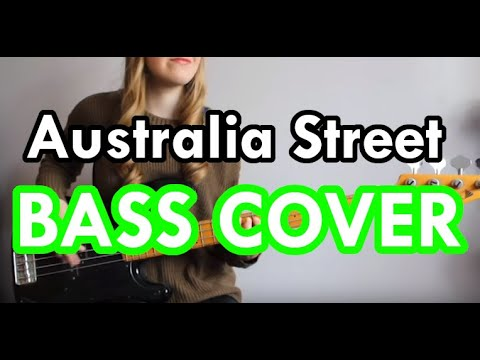 Sticky Fingers - Australia Street (Bass Cover)